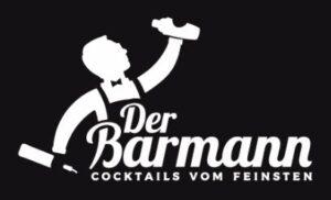 Der Barmann Logo Schwarz Weiß